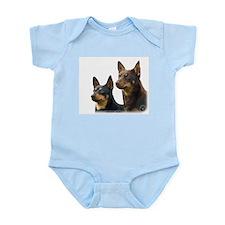 Lancashire Heeler 9T003D-074 Infant Bodysuit