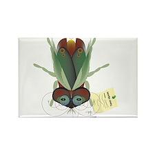 Beetle News Rectangle Magnet