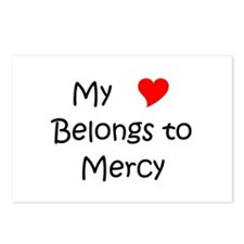 Love mercy Postcards (Package of 8)