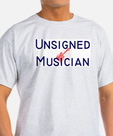 Unsigned Musician Ash Grey T-Shirt