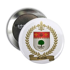 GENDRON Family Crest Button