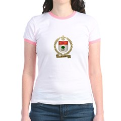 GENDRON Family Crest Jr. Ringer T-Shirt