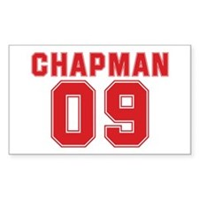 CHAPMAN 09 Rectangle Decal