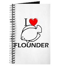 I Love Flounder Journal