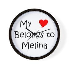 Melina Wall Clock