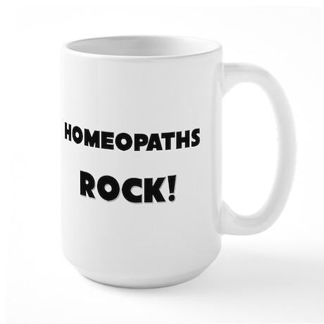 Homeopaths ROCK Large Mug
