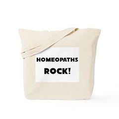 Homeopaths ROCK Tote Bag