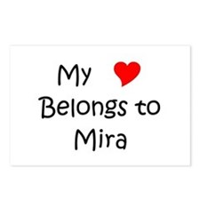 Cool Mira Postcards (Package of 8)
