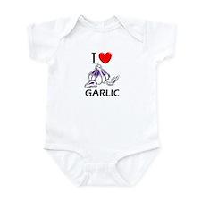 I Love Garlic Infant Bodysuit