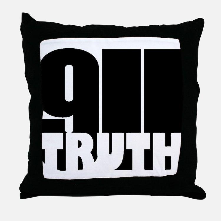 911 Truth Throw Pillow