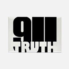 911 Truth Rectangle Magnet
