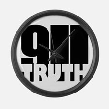 911 Truth Large Wall Clock