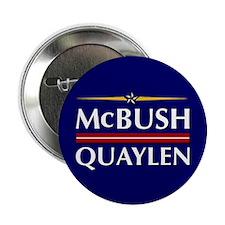 """McBush/Quaylen 2.25"""" Button"""