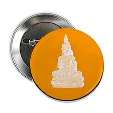 orange sitting buddhas Button