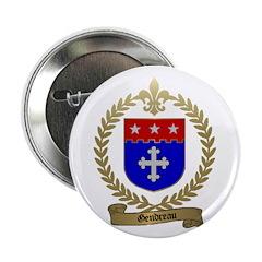 GENDREAU Family Crest Button