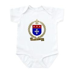 GENDREAU Family Crest Infant Creeper