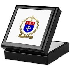 GENDREAU Family Crest Keepsake Box