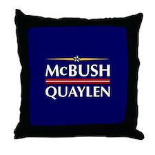 McBush/Quaylen Throw Pillow