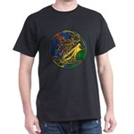 Celtic Hound & Bird Knot T-Shirt in Dark Color