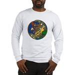 Celtic Hound & Bird Knot Long Sleeve T-Shirt
