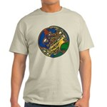 Celtic Hound & Bird Knot Light T-Shirt
