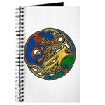 Celtic Hound & Bird Knot Journal