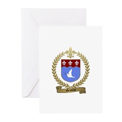 GELINAS Family Crest Greeting Cards (Pk of 10)
