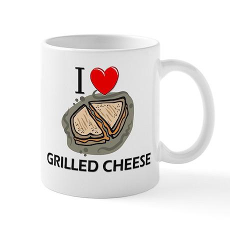 I Love Grilled Cheese Mug
