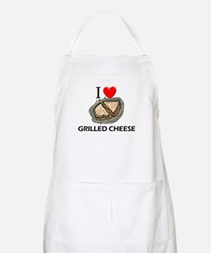 I Love Grilled Cheese BBQ Apron