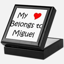 Unique Miguel Keepsake Box