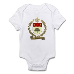 GAUVIN Family Crest Infant Creeper