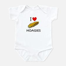 I Love Hoagies Infant Bodysuit