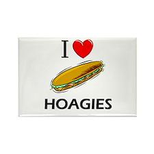 I Love Hoagies Rectangle Magnet (10 pack)
