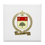 GAUVIN Family Crest Tile Coaster