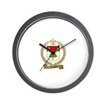 GAUVIN Family Crest Wall Clock