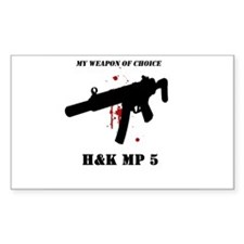 Buy MP5 Fan Rectangle Decal