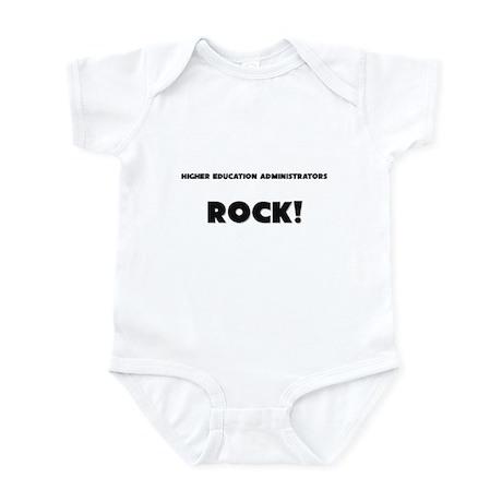 Higher Education Administrators ROCK Infant Bodysu