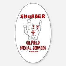 Snubber Oval Decal