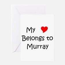 Cute Murray Greeting Card