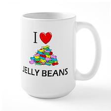 I Love Jelly Beans Mug
