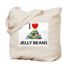 I Love Jelly Beans Tote Bag