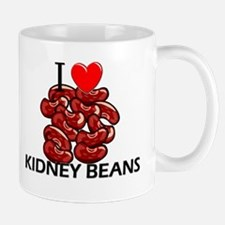 I Love Kidney Beans Mug