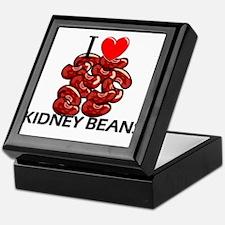 I Love Kidney Beans Keepsake Box