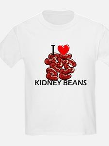 I Love Kidney Beans T-Shirt