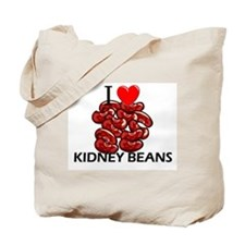 I Love Kidney Beans Tote Bag