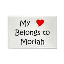 Funny Moriah Rectangle Magnet