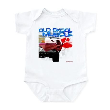old skool 69 hurst Infant Bodysuit