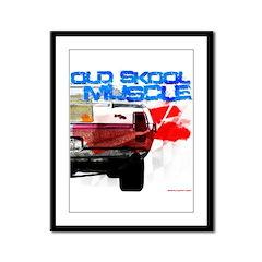 old skool 69 hurst Framed Panel Print