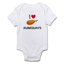 I Love Kumquats Infant Bodysuit