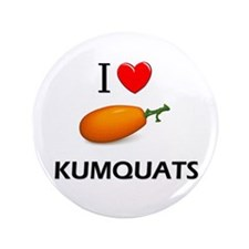 "I Love Kumquats 3.5"" Button"